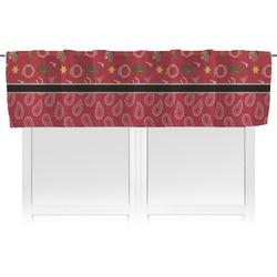 Red Western Valance (Personalized)
