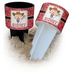 Red Western Beach Spiker Drink Holder (Personalized)