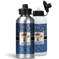 Blue Western Water Bottles- Aluminum (Personalized)