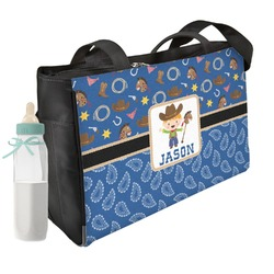 Blue Western Diaper Bag (Personalized)