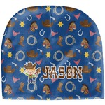 Blue Western Baby Hat (Beanie) (Personalized)