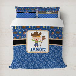 Blue Western Duvet Covers (Personalized)