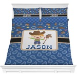 Blue Western Comforters (Personalized)