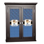 Blue Western Cabinet Decal - Custom Size (Personalized)