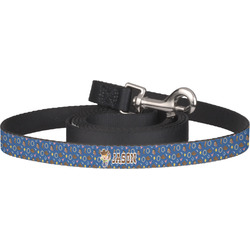 Blue Western Dog Leash (Personalized)