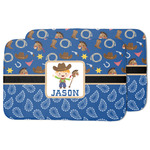 Blue Western Dish Drying Mat (Personalized)