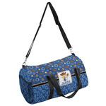 Blue Western Duffel Bag (Personalized)