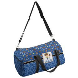 Blue Western Duffel Bag - Multiple Sizes (Personalized)