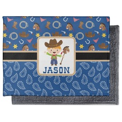 Blue Western Microfiber Screen Cleaner (Personalized)