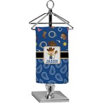 Blue Western Finger Tip Towel - Full Print (Personalized)