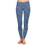 Blue Western Ladies Leggings (Personalized)