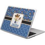 Blue Western Laptop Skin - Custom Sized (Personalized)