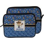 Blue Western Laptop Sleeve / Case (Personalized)