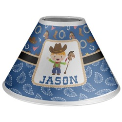 Blue Western Coolie Lamp Shade (Personalized)