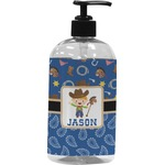 Blue Western Plastic Soap / Lotion Dispenser (Personalized)