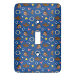 Blue Western Light Switch Covers (Personalized)