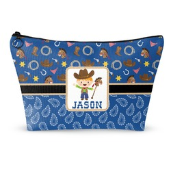 Blue Western Makeup Bags (Personalized)