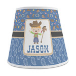 Blue Western Empire Lamp Shade (Personalized)