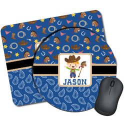 Blue Western Mouse Pads (Personalized)