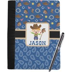 Blue Western Notebook Padfolio (Personalized)