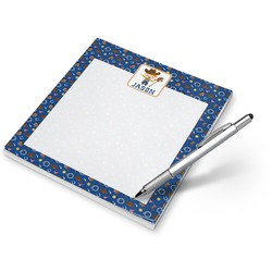 Blue Western Notepad (Personalized)