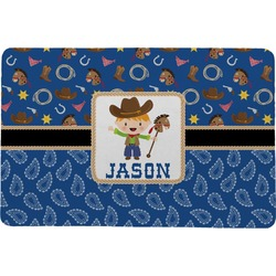 Blue Western Comfort Mat (Personalized)