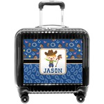 Blue Western Pilot / Flight Suitcase (Personalized)