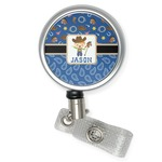 Blue Western Retractable Badge Reel (Personalized)