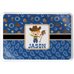 Blue Western Serving Tray (Personalized)