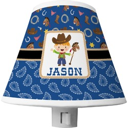 Blue Western Shade Night Light (Personalized)