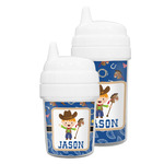 Blue Western Sippy Cup (Personalized)