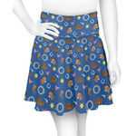 Blue Western Skater Skirt (Personalized)