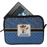 Blue Western Tablet Case / Sleeve (Personalized)