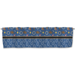 Blue Western Valance (Personalized)