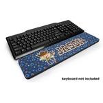 Blue Western Keyboard Wrist Rest (Personalized)