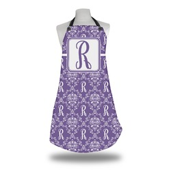 Initial Damask Apron (Personalized)