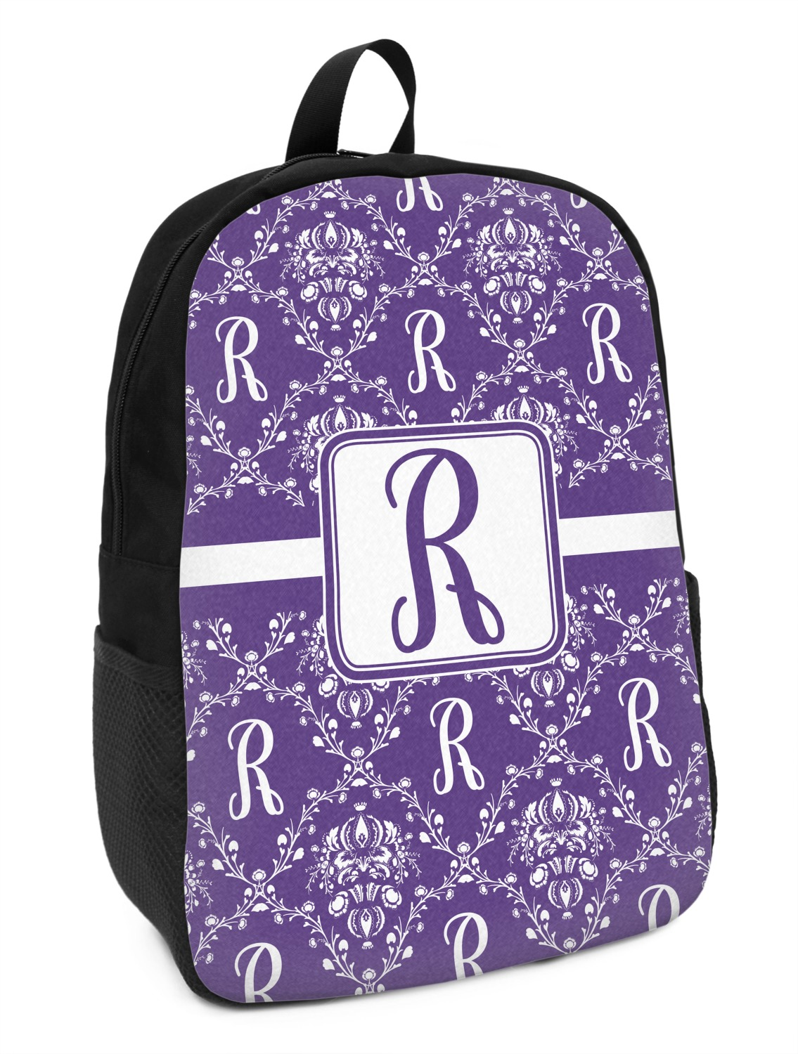 57eaf403bcab Initial Damask Kids Backpack (Personalized) - YouCustomizeIt