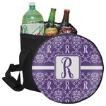 Initial Damask Collapsible Cooler & Seat (Personalized)