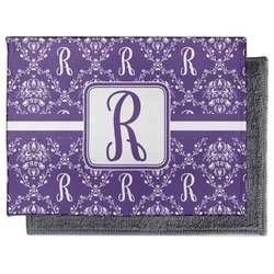 Initial Damask Microfiber Screen Cleaner (Personalized)
