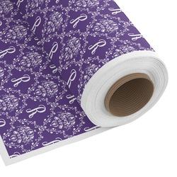 Initial Damask Custom Fabric - Spun Polyester Poplin (Personalized)