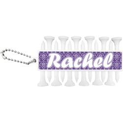 Initial Damask Golf Tees & Ball Markers Set (Personalized)
