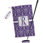 Initial Damask Golf Towel Gift Set (Personalized)