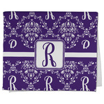 Initial Damask Kitchen Towel - Full Print (Personalized)