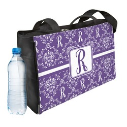 Initial Damask Ladies Workout Bag (Personalized)
