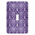 Initial Damask Light Switch Covers (Personalized)