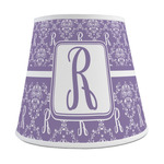 Initial Damask Empire Lamp Shade (Personalized)