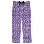 Initial Damask Mens Pajama Pants (Personalized)
