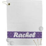 Initial Damask Golf Towel (Personalized)