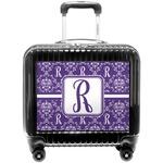 Initial Damask Pilot / Flight Suitcase (Personalized)