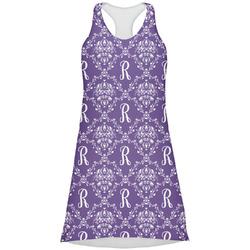 Initial Damask Racerback Dress (Personalized)